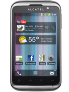 Android telefon Alcatel OT-991